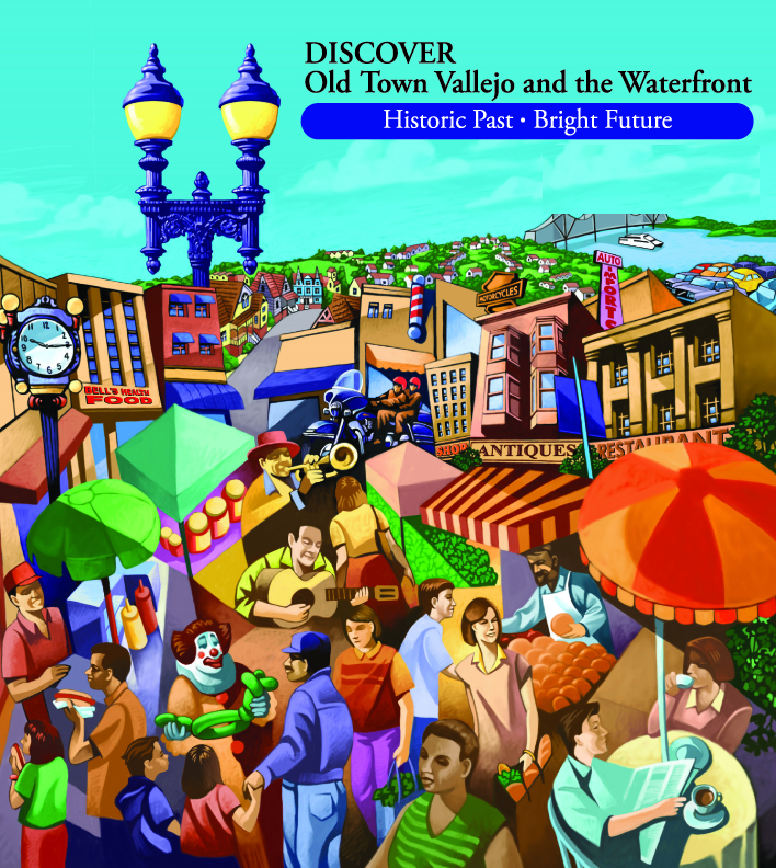 Vallejo First Corp. walking brochure cover